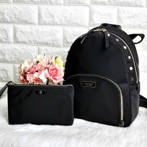 💖NWT Kate Spade Dawn Studded Backpack Set